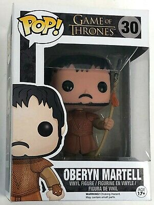 Rare Vaulted Oberyn Martell Game of Thrones GoT Funko Pop Figure w Protector