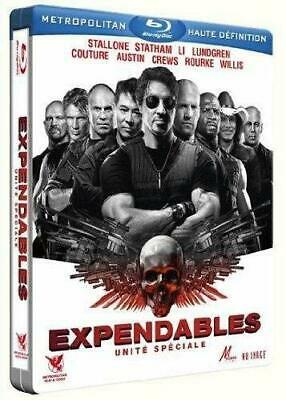 Expendables 1 Stallone  Steelbook  Blu Ray  Neuf Sous Cellophane