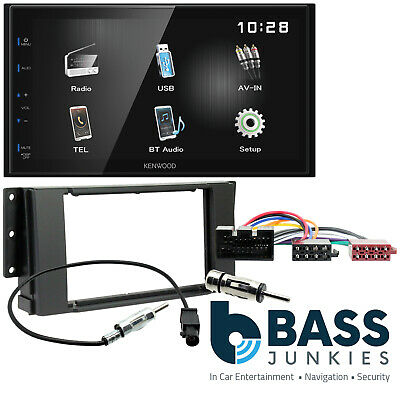 Range Rover Sport 2005-2010 Kenwood Bluetooth Touch Car Stereo ISO Wiring Kit