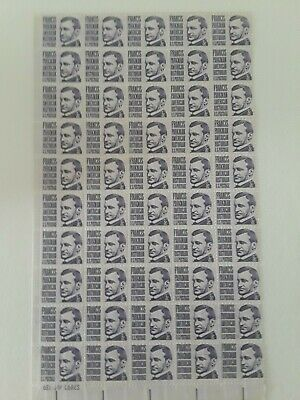US stamp three cents Francis Parkman sheet of fifty mint nh og