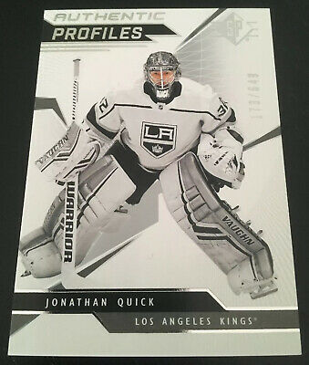2018-19 Upper Deck SP Hockey Authentic Profiles Jonathan Quick Kings! #173/649