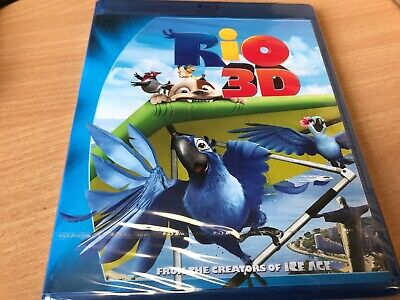 SEALED ---- Rio (3D Blu-ray, 2011)