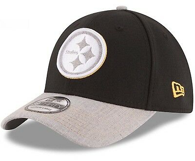 c069066a PITTSBURGH STEELERS NEW Era NFL Change Up Heather 39THIRTY Cap Hat ...