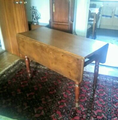 Victorian Small foldaway kitchen or dining room table