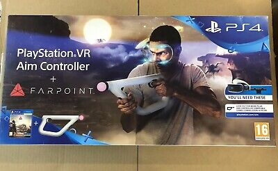 Farpoint + Sony PlayStation VR Aim Controller PSVR (New Item Seal Open)