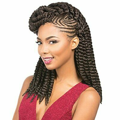 Sensationnel African Collection Synthetic Crochet Braid RUMBA TWIST 12""