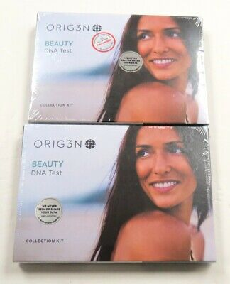 2 Pack ORIG3N Beauty DNA Test Collection Kit New In The Box Sealed Free Shipping