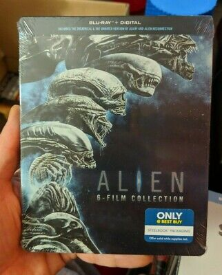 Alien 6-Film Collection - Best Buy Exclusive Steelbook (Blu-ray) NEW!! Covenant