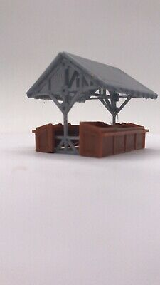 3D printer N scale Railway Layout Country Market Stall  miniatures model