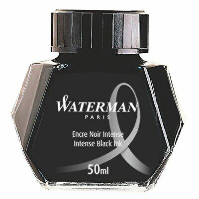 Waterman 50ml Ink Bottle for Fountain Pens (S0110), Choose Color