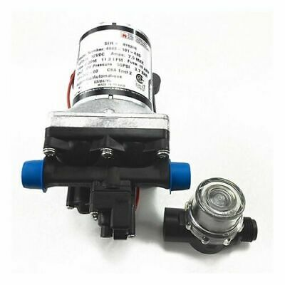 6 PACK Shurflo Marine and RV 12V Water Pump | 3.0 GPM 4008-101-A65 | w/ Strainer
