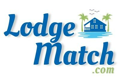 LodgeMatch.com - Brandable Domain Name for Travel, Vacation, Homes, Condos