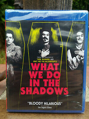 What We Do in The Shadows Blu-ray Brand New Vampire Horror Comedy