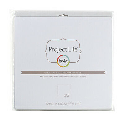 American Craft Becky Higgins - Project Life - Photo Pocket Pages - 12 x 12