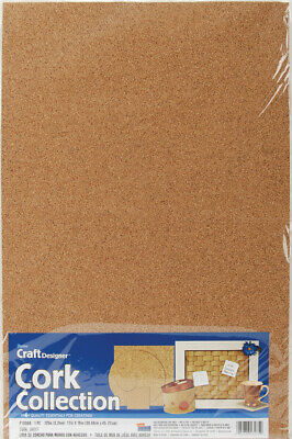 Darice Cork Collection Sheet 12 X 18 X 0.125 Inches