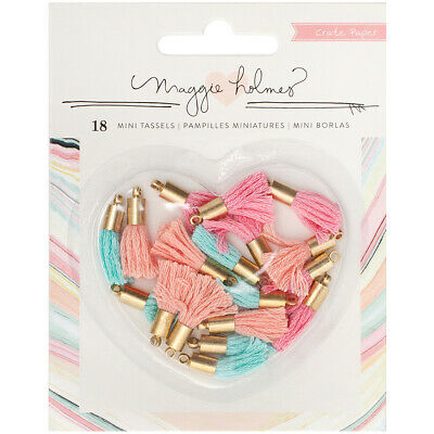 American Crafts Crate Paper Maggie Holmes Gather Mini Tassels