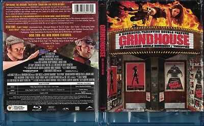 Grindhouse Double Bill (Bluray) FREDDY Rodriguez, Marley Shelton, Bruce Willis,