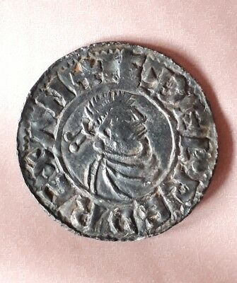Anglo Saxon - Aethelred II (978-1016) first hand type silver penny.