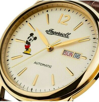 Ingersoll The New Haven Mickey Mouse Automatic Ltd Edt Watch ID00202 RRP £500!!!