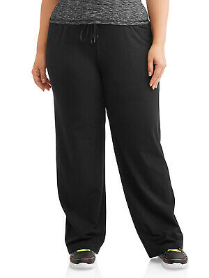 77a5a553cdab Athletic Works Women's Dri More Core Relaxed Fit Yoga Pants, Regular & Plus  Size