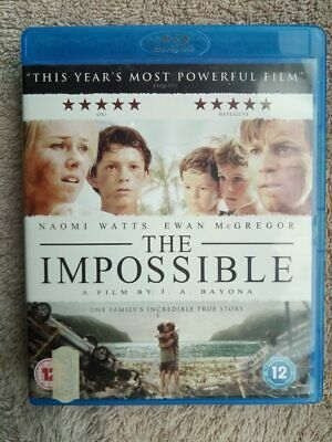 The Impossible Blu-Ray Naomi Watts 2013