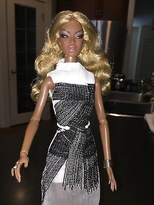 Fashion Royalty Faces of Adele Makeda Dressed Doll