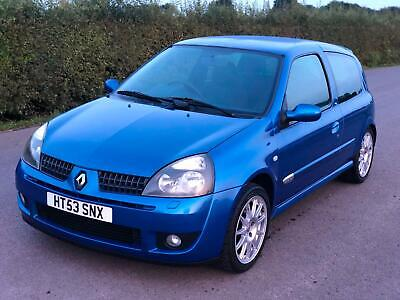 RENAULT CLIO 2.0 16v 172 CUP - RECENT BELTS SERVICE - DRIVES GREAT