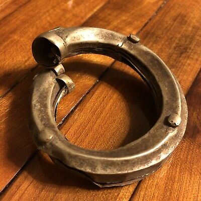 Post Medieval Antique Ottoman Empire Cuff Bracelet Old Jewelry Artifact Islamic