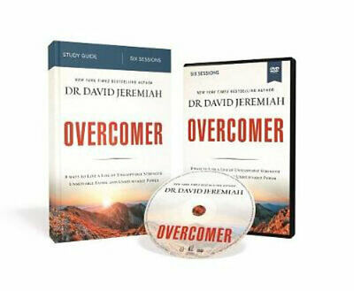 NEW Overcomer Study Guide With DVD By David Jeremiah Not Supplied By Publisher