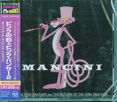 OST-THE RETURN OF THE PINK PANTHER-JAPAN CD Ltd/Ed B63