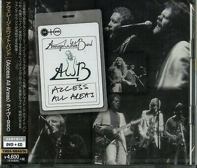 AVERAGE WHITE BAND-   ACCESS ALL AREAS    LIVE 1980-JAPAN DVD+CD L08 zd