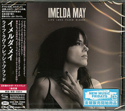 Imelda May-Life Love Flesh Blood-Japan Shm-Cd Bonus Track F83