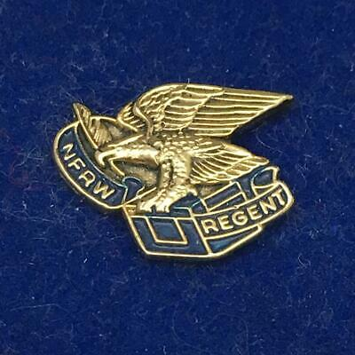 NFRW National Federation Republican Women REGENT Clutchback Pin w Handsome Eagle