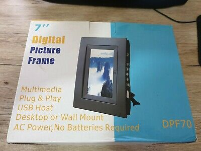 """7"""" Digital Picture Frame Album With Remote Control & Autoplay - DPF70"""