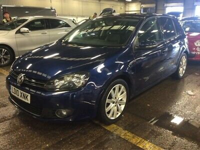 10 Volkswagen Golf 2.0 Tdi 140 Gt - Alloys, Aircon, Bluetooth, 9 Stamps, Leather