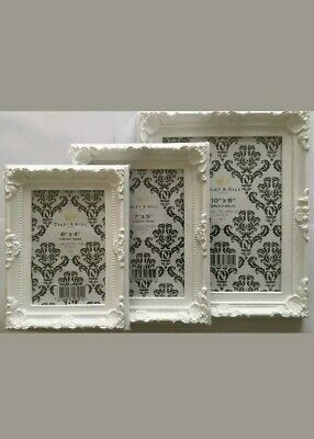 Shabby Chic French  Style Photo Frame Ornate Vintage Antique Wedding Placecard