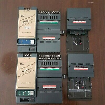 IDEC FA-2Junior Programmable Controllers Plus Output Cards.