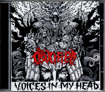 THE CRUCIFIER - Voices In My Head NEU Hallows Eve Onslaught Razor THRASH