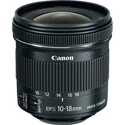 Canon EF-S 10-18mm f/4.5-5.6 IS STM Lens (Retail Box) HH