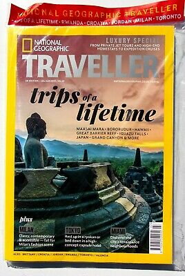National Geographic Traveller Magazine July / August 2019 ~ New ~