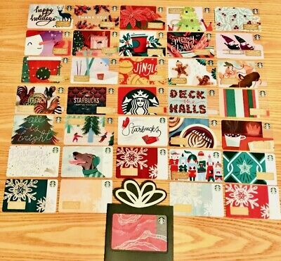 2018 STARBUCKS US HOLIDAY PICK YOUR Christmas Collectible Gift Cards