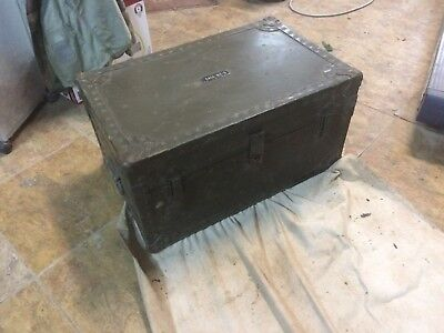 us army signal corps chest, case bc-5 ww2