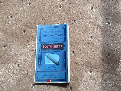 Old Cloth Road Map  Geographia  Of England & Wales  SOUTH SHEET
