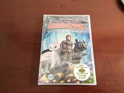 Dvd how to train your dragon the hidden world New sealed UK version free post