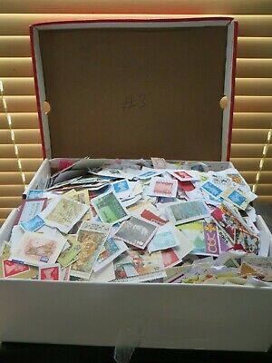 1.6kg Box of GB and World Wide stamps from Charity Kiloware #3