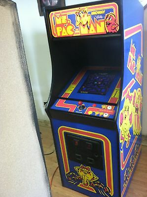 Restored Ms. PacMan Arcade Machine, Upgraded To Play 412 Games!