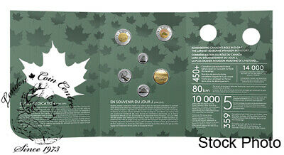 Canada 2019 D-Day Commemorative Collector Keepsake Coin Set
