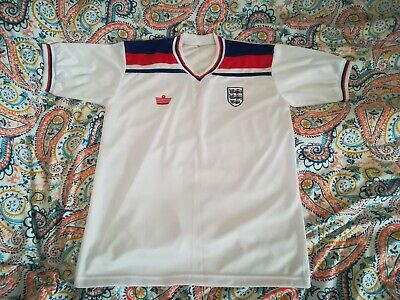 Retro Admiral Style Classic 1982 World Cup England Home Football Shirt Jersey XL