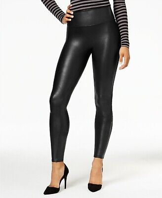 0b40d9050718c Spanx Ready-To-Wow Faux Leather Leggings Black Style# 2437 98$ Retail