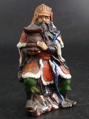 Chinese Warrior Shekwan Mudman Figurine